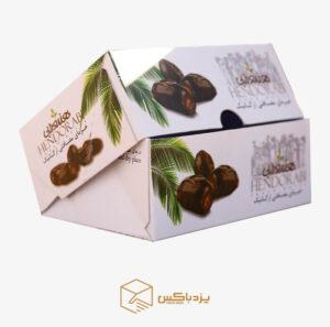 جعبه خرما کیبوردی ۸۰۰ گرمی طرح هندورابی